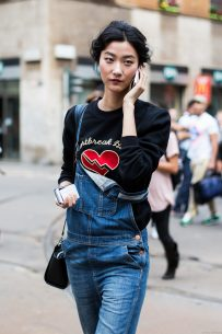 off-duty after Dolce Gabbana