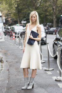 Cream dresses by Céline