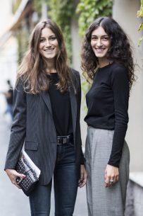 Giorgia and Giulia