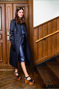 Leila Yavari for Glamour January 2015