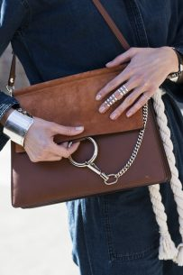 Detail – the Chloé bag