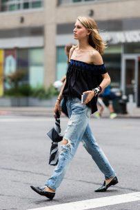 New York Fashionweek day 1