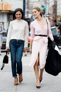 Samantha and Vanessa Traina NYFW