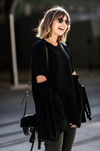 Talisa in Sydney – all about the sleeves