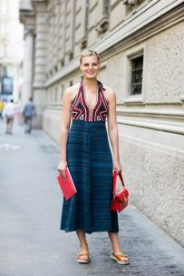 Claire in Milan