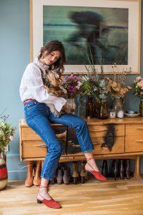 Jeanne Damas for US Glamour November 2017